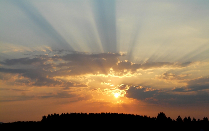 Napfelkelte a Duna-Dráva Nemzeti Parkban