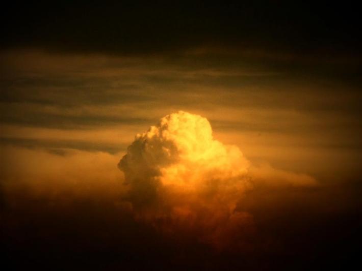 Első naplementés képem
