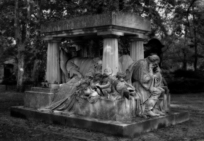 Blaha Lujza síremléke