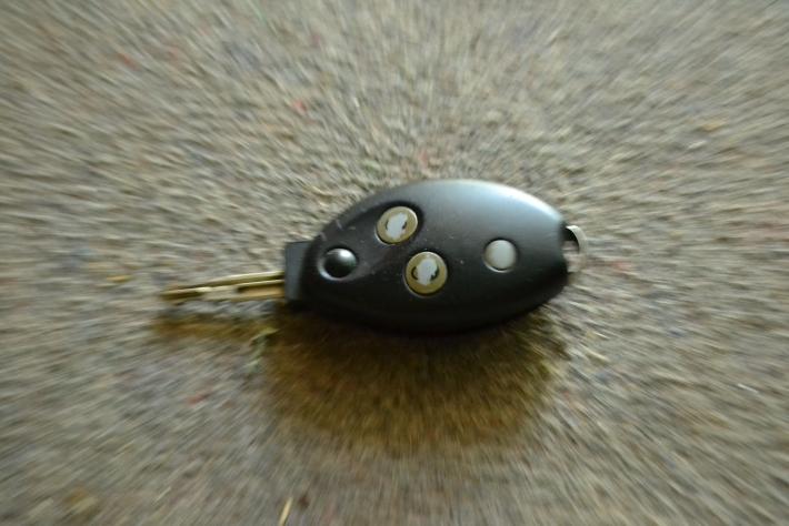 Az autóm kulcsa