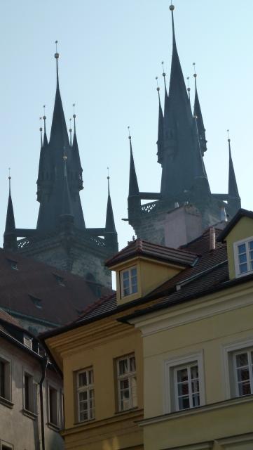 Két torony Prágában