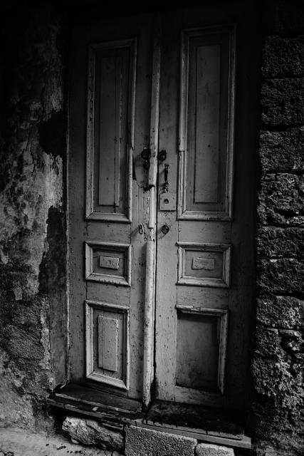 Görög óvárosi ajtó