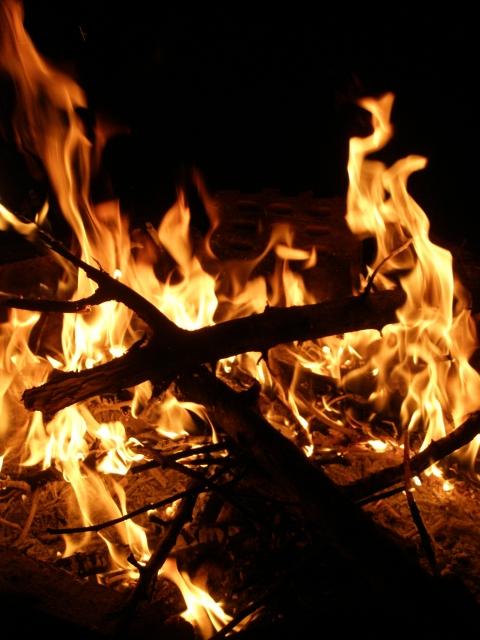 Tűzben égve